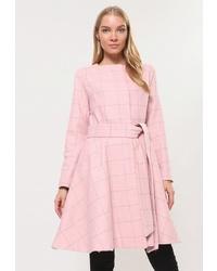 Женское розовое пальто от Tutto Bene