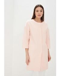 Женское розовое пальто от Villagi