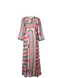 Розовое пляжное платье с принтом от Le Sirenuse