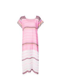 Розовое пляжное платье от Lemlem