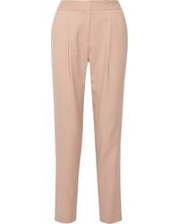 Розовые брюки-галифе