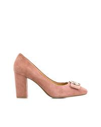 Розовые замшевые туфли от Michael Kors