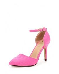 Розовые замшевые туфли от Sweet Shoes