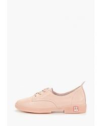Женские розовые кожаные оксфорды от Sprincway