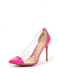 Розовые кожаные туфли от Elsi
