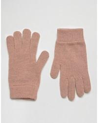 Женские розовые перчатки от Asos