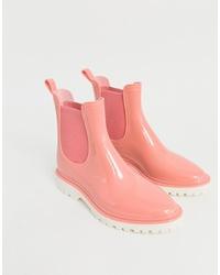 Женские розовые резиновые сапоги от ASOS DESIGN
