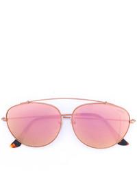 Мужские розовые солнцезащитные очки от RetroSuperFuture