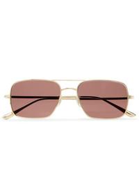 Мужские розовые солнцезащитные очки от The Row