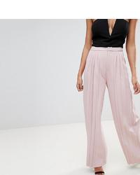 Розовые широкие брюки от Missguided