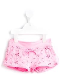 Детские розовые шорты для девочке
