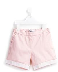Детские розовые шорты для девочек