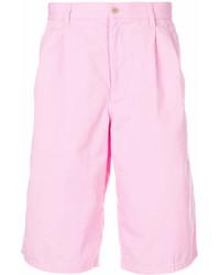 Мужские розовые шорты от Comme des Garcons