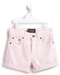 Детские розовые шорты для девочке от Finger In The Nose