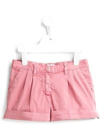 Детские розовые шорты для девочке от Il Gufo