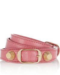 Розовый браслет от Balenciaga