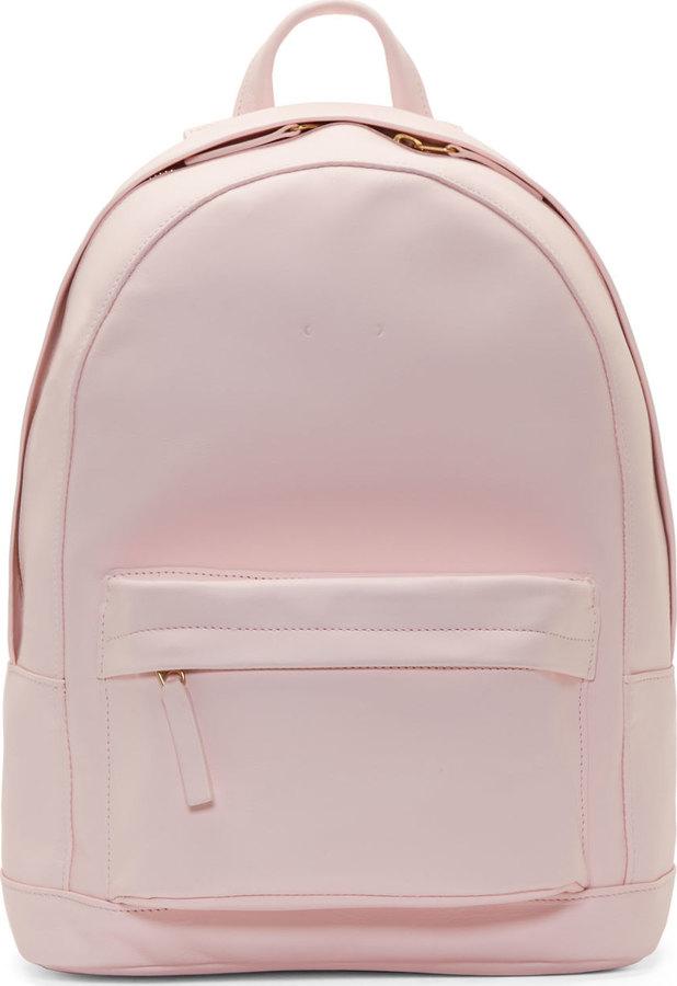 30564143ddcd Женский розовый кожаный рюкзак, 42 106 руб. | SSENSE | Лукастик