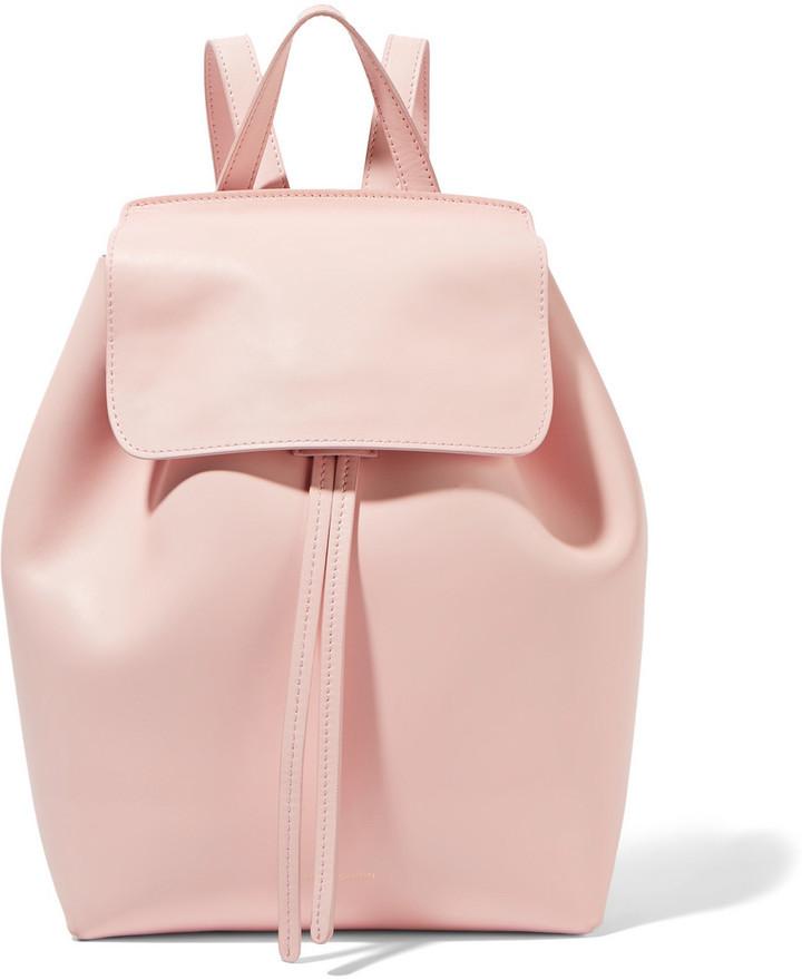 e7774352cb84 Женский розовый кожаный рюкзак от Mansur Gavriel, 51 505 руб. | NET ...
