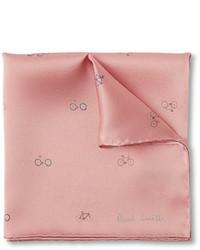 Розовый нагрудный платок с принтом от Paul Smith