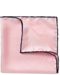Розовый нагрудный платок