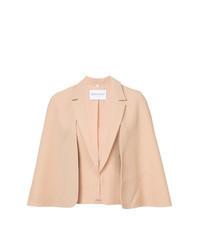 Розовый пиджак-накидка