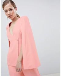 Розовый пиджак-накидка от Lavish Alice
