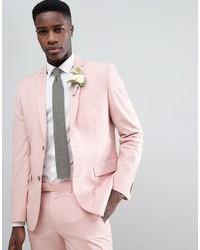 Мужской розовый пиджак от Farah Smart