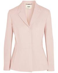 Женский розовый пиджак от Fendi