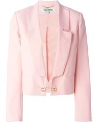 Женский розовый пиджак от Kenzo