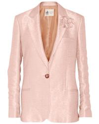 Женский розовый пиджак от Lanvin