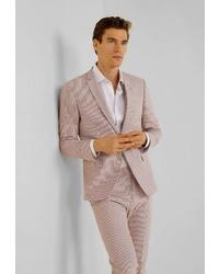 Мужской розовый пиджак от Mango Man