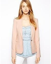 Женский розовый пиджак от Tommy Hilfiger