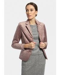 Женский розовый пиджак от Vladi Collection