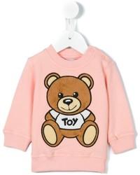 Детский розовый свитер для девочке