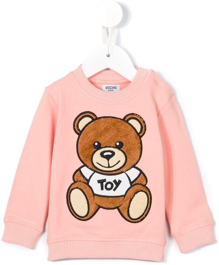 Детский розовый свитер для девочек