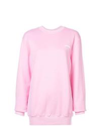 Женский розовый свитшот от Fiorucci