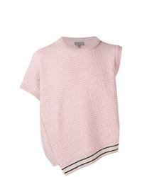 Мужской розовый трикотажный жилет от Lanvin