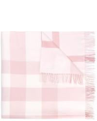 Детский розовый шарф для девочке от Burberry