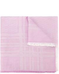 Детский розовый шарф для девочке от Fendi