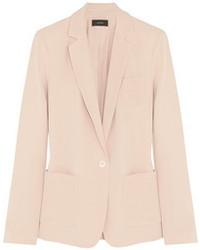 Розовый шелковый пиджак