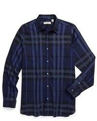 рубашка с длинным рукавом в шотландскую клетку original 364128
