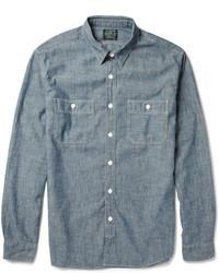рубашка с длинным рукавом из шамбре original 363960