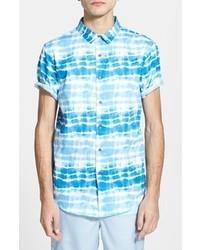 Рубашка с коротким рукавом с принтом