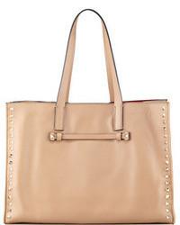 Светло-коричневая большая сумка