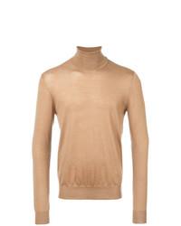 Мужская светло-коричневая водолазка от Prada