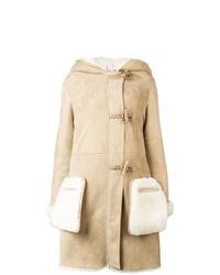 Женская светло-коричневая дубленка от Golden Goose Deluxe Brand