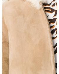 Женская светло-коричневая дубленка от MiH Jeans