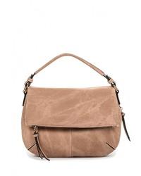 Светло-коричневая кожаная сумка через плечо от Call it SPRING
