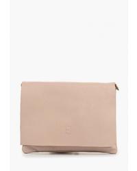 Светло-коричневая кожаная сумка через плечо от Roberto Buono