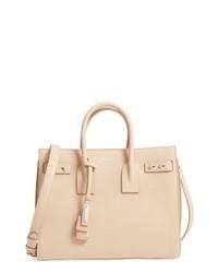 Светло-коричневая кожаная сумочка